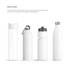 Sport Bottles Mockups Set Etsy