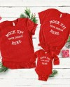 3001 Family Christmas T Shirt Mock Up Bella Canvas Red 4400 Etsy