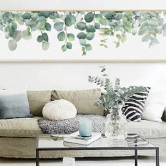 Large Canvas Art For Living Room Dark Grey Walls Wall Etsy Eucalyptus Extra Cactus Painting Print Succulent Decor