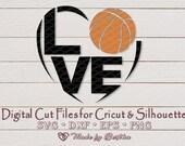 Basketball SVG, I love Basketball, Basketball dad, Basketball gifts, sports svg -  Digital File for Cricut, Silhouette  Sports il 170x135