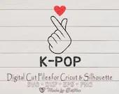 Korean Finger Heart, Love K-pop, Korean pop lovers for finger heart symbol of Love  Love Hearts il 170x135