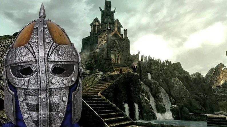 guard helmet from skyrim