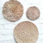 Wicker Baskets Wall Decor Woven Wall Plates Wall Hanging Etsy