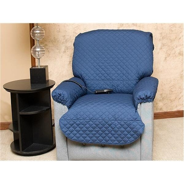 chair covers for incontinence brown leather rocking liquaguard recliner or lift cover etsy 50