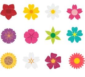Flower Clipart Vector Flowers Clipart Commercial Use Flower Etsy