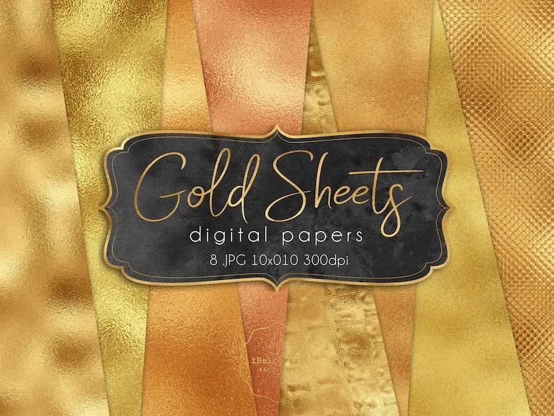 gold foil textures gold
