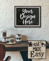 Mock Up Of Living Room Blank White Wall Front View Mockup Etsy