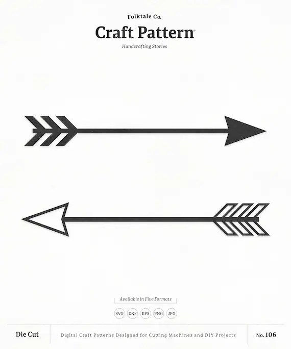 Download Arrow SVG Craft Pattern Arrow SVG Cut File Tribal Arrow | Etsy