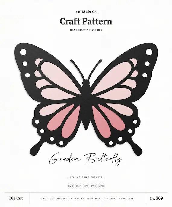 Cricut Butterfly Svg : cricut, butterfly, Butterfly, Paper