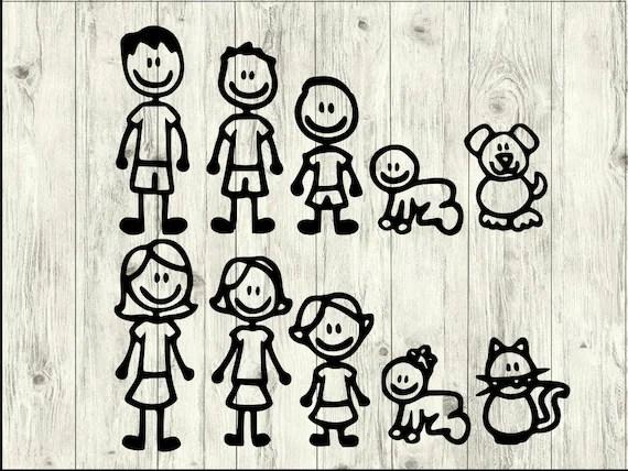 Download Stick Family SVG Bundle Family SVG Bundle Family cut file ...