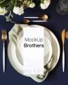 Menu Card Mock Up Wedding Menu Mockup 4x9 Card Mockup Blank Etsy