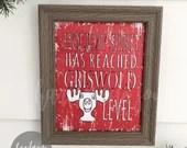 Christmas Vacation print, Christmas sign, Griswold, printable, print at home, Clark Griswold, printable sign, digital, christmas print,