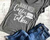Mama needs Coffee svg, Coffee without talkie svg, mama svg, mother's day svg, mama needs caffeine svg, funny mom svg, svg files, cricut