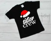 Christmas sister crew svg, christmas svg, christmas cut file, sister crew svg, christmas svg files, christmas svg files for cricut