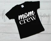 Mom crew svg, mothers day svg, mom cut file, mom crew svg, svg files, svg files for cricut
