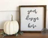 fall sign Mock up, sign mock up, sign mock up, digital mock up, svg mock up, farmhouse, rustic, styled mockup, product photography