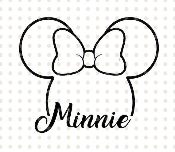 minnie mouse vector # 6