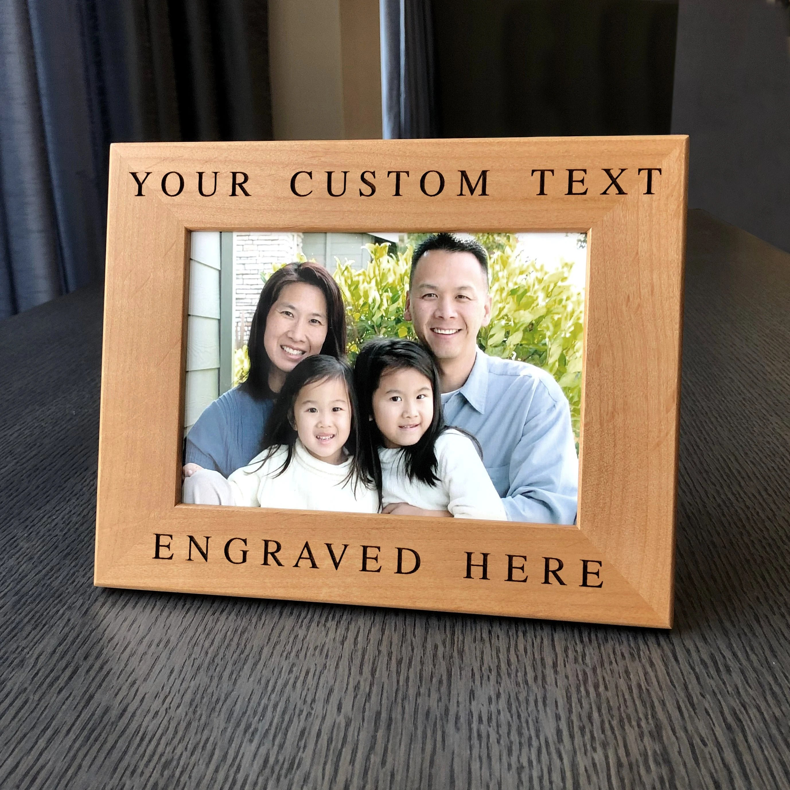 personalized frame custom engraved