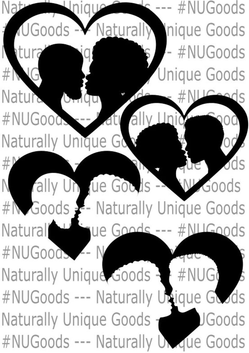 Download Black Couple SVG Bundle Black Love Hearts Crafty Carlsiha ...