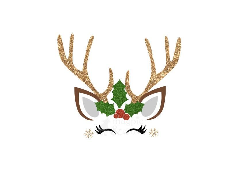 Download Cute Reindeer SVG Christmas SVG Reindeer SVG Cricut Cut | Etsy