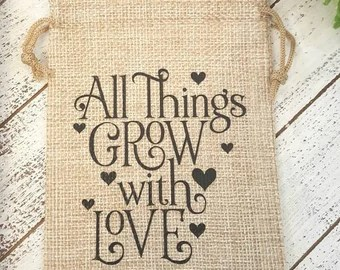 Download Grow with love | Etsy