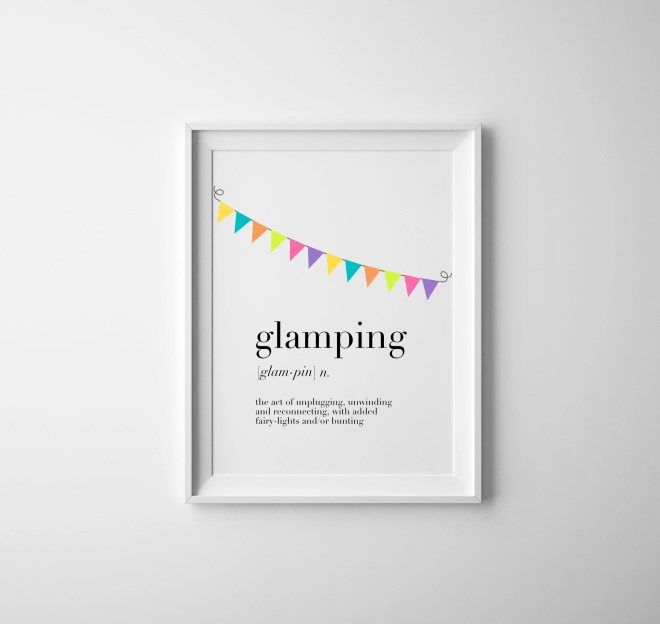 Glamping definition digit...