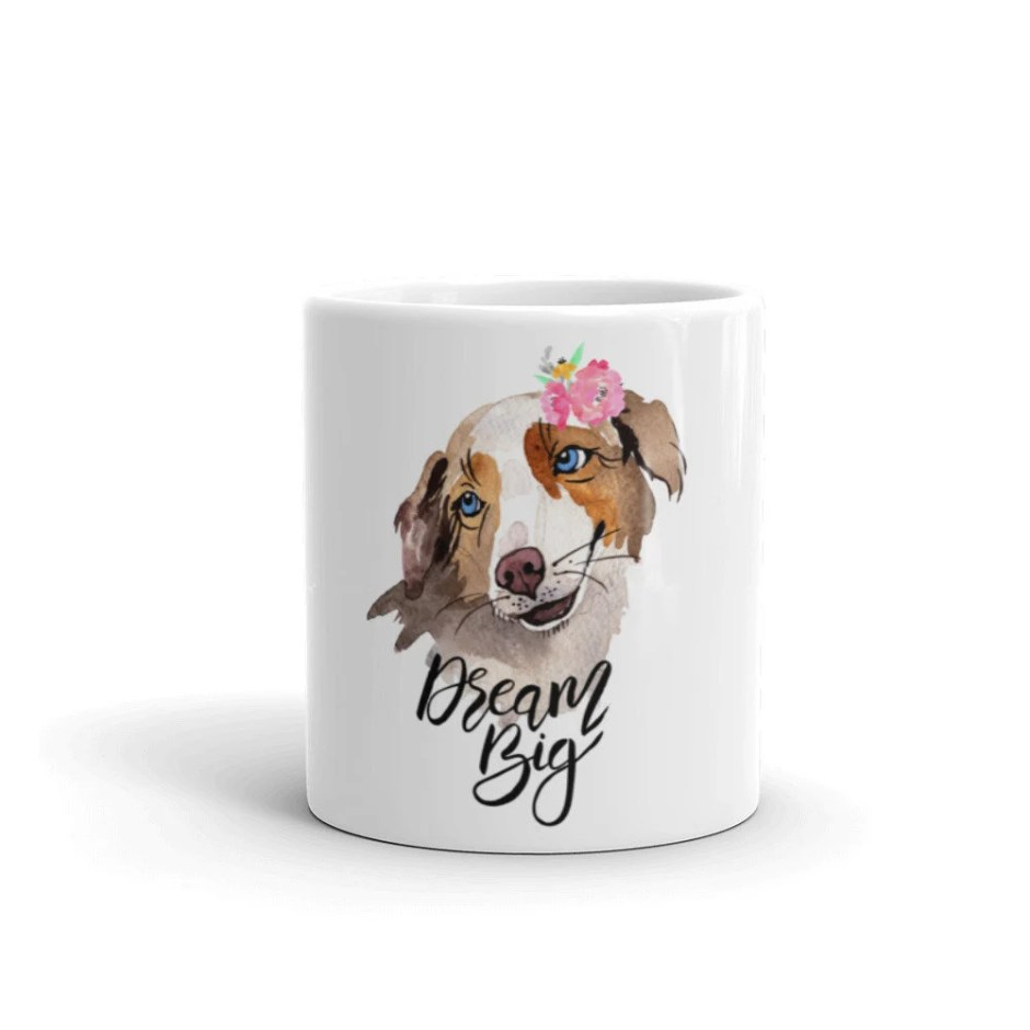 Dog Mug, Aussie Dog, Pet ...