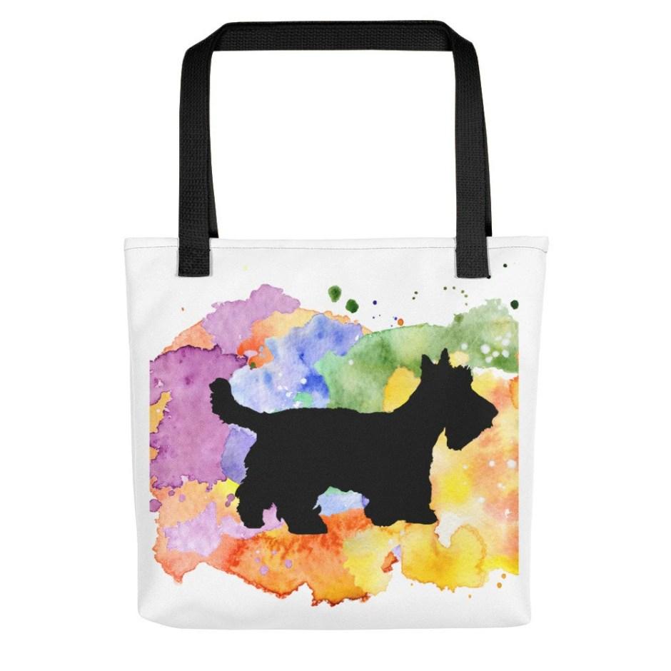 Scottie Dog Tote Bag, Sco...