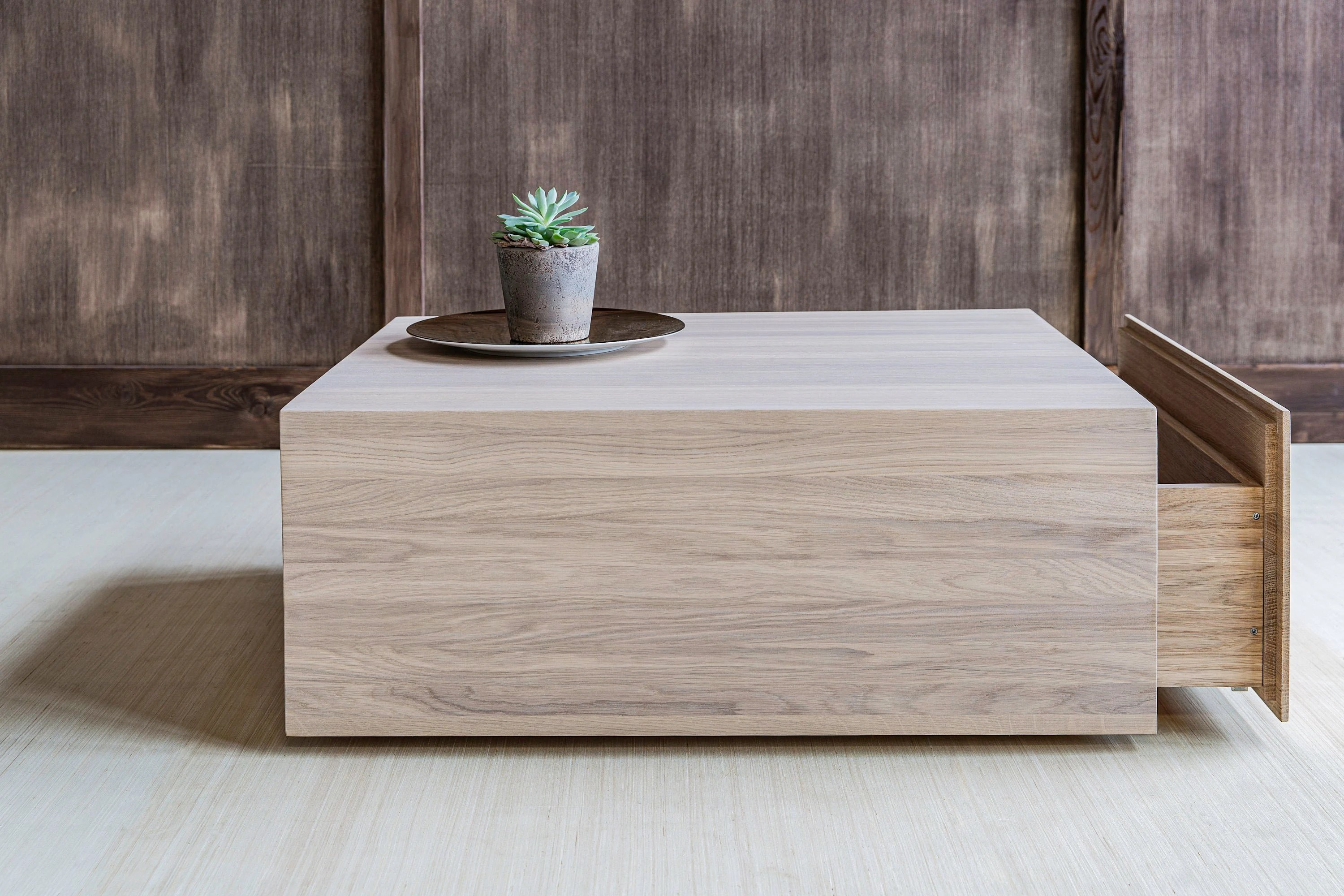 square coffee table with storage center coffee table from oak modern coffee table wood table living room furniture