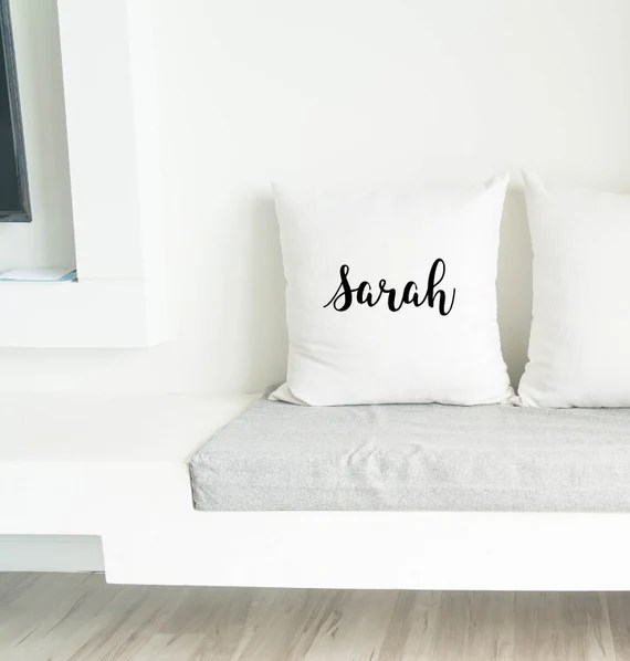 Custom Name Pillow Case