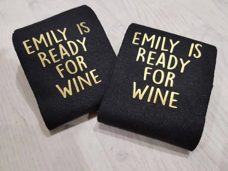 Wine Socks Funny Socks Women's Personalized Socks image 0