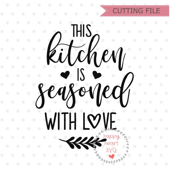Download Download Free Svg Kitchen Images for Cricut, Silhouette ...