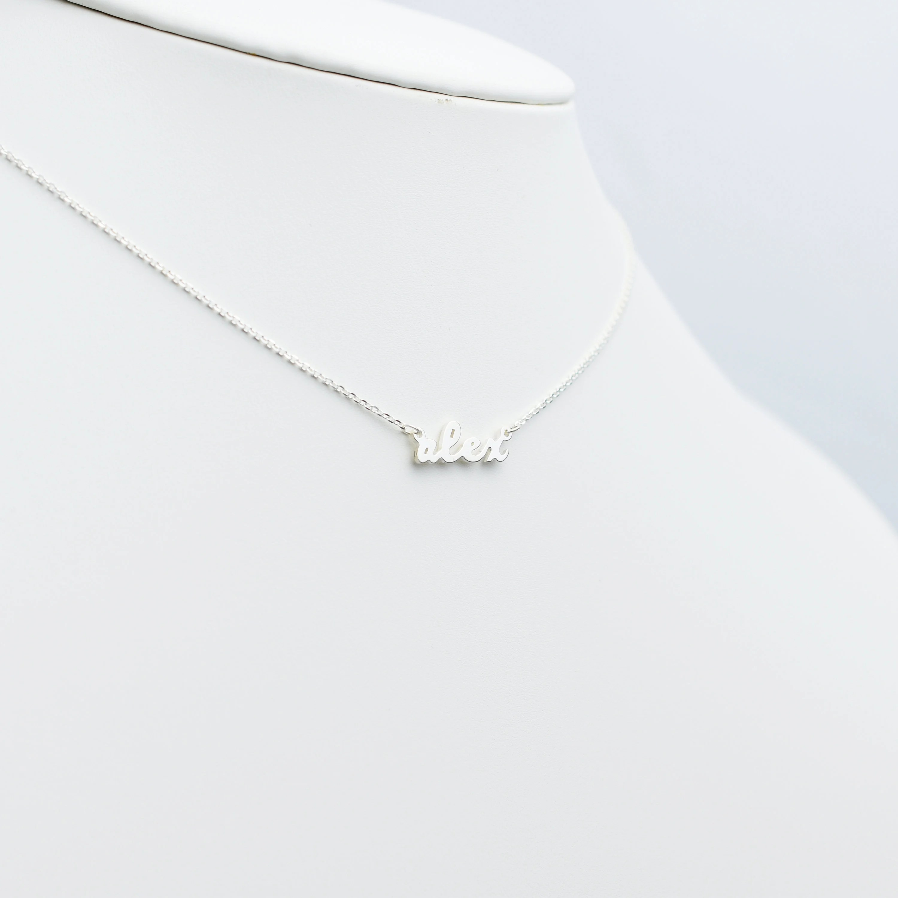 Best Dainty Name Necklace Tiny Name Necklace for Her image 2
