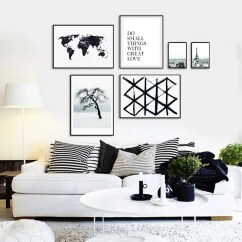 Contemporary Wall Decor For Living Room Showcase Interior Designs Modern Art Etsy Black And White Print Set Printable Minimalist Of 6 Large Gallery Poster