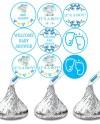 Hersheys Kisses Stickers Baby Shower Baby Shower Etsy