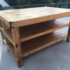 Kitchen Island And Table New Sink Farmhouse Etsy With Seating Area