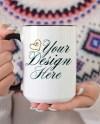 Black Handle Mug Mockup Mug Mockup Styled Stock Photography Etsy