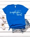 Bella Canvas 3001 True Royal T Shirt Mockup Shirt Flat Lay Etsy