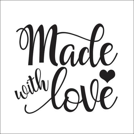 Download Made With Love SVG File   Etsy