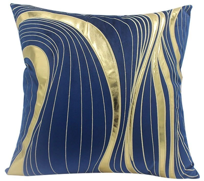 blue throw pillows cushion cover blue