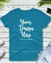 Blue T Shirt Mockup Gildan 5000 Tshirt Flat Lay Styled Etsy