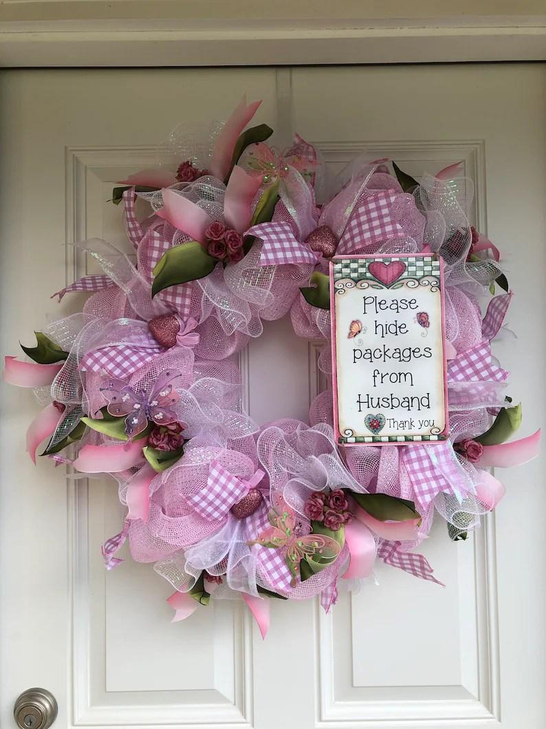 welcome wreath summer wreath
