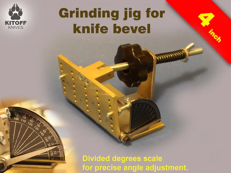 Knife Bevel Grinding Jig