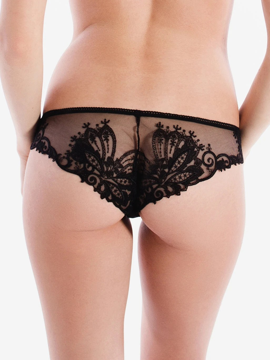 Women In Panties Pics : women, panties, Black, Panties, Women, Cheeky