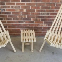 Folding Kentucky Chair Best Chairs Geneva Espresso Wood Glider Reviews Stick Etsy Wide