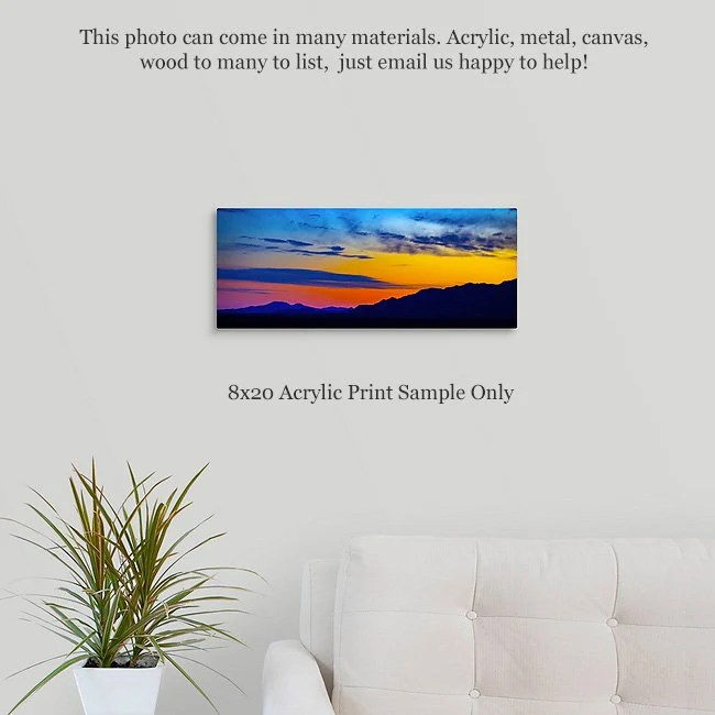 landscape photography acrylic prints