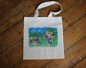 Animal Crossing Unicorn Tote Bag