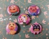 Animal Crossing Pin Badges
