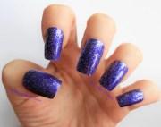 metallic mirror nails