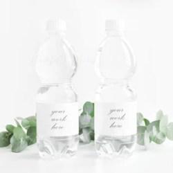Bottle Label Mockup Drink Label Styled Stock Photography Etsy